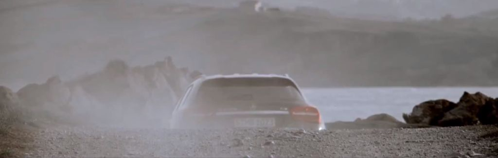 Mercedes GLA rear fascia teaser video screenshot