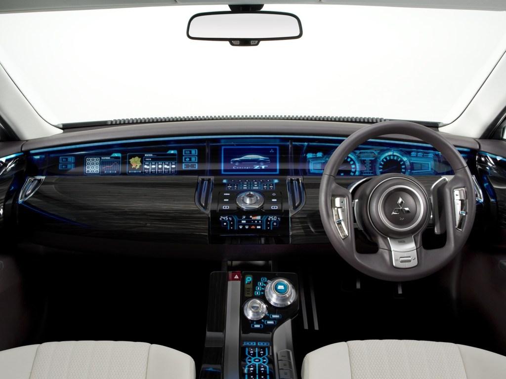 Mitsubishi Concept ZT interior