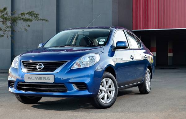 Nissan Almera South Africa front