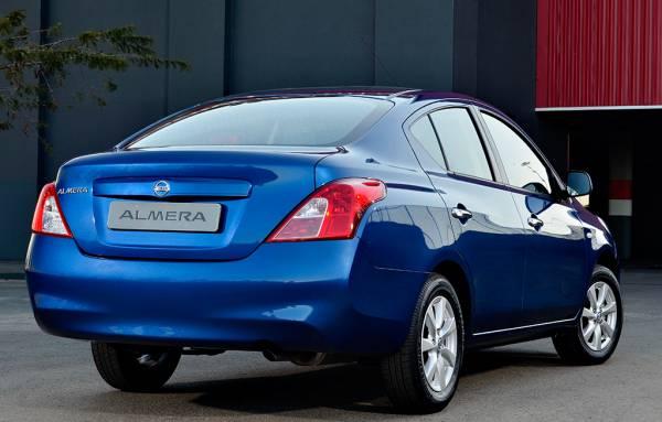 Nissan Almera South Africa rear