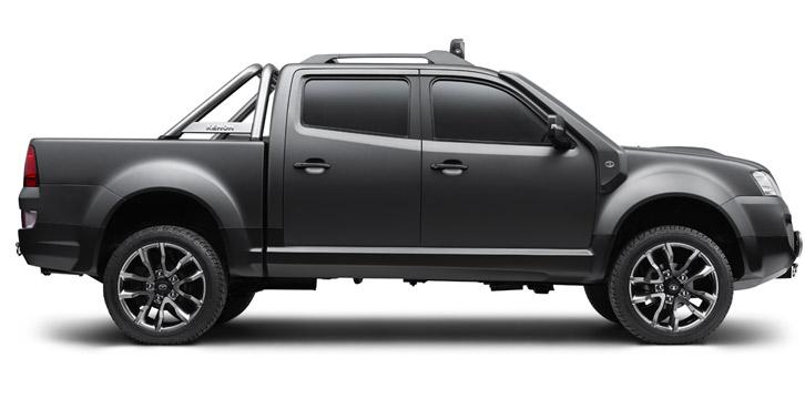 Profile of the Tata Xenon Tuff Truck Concept