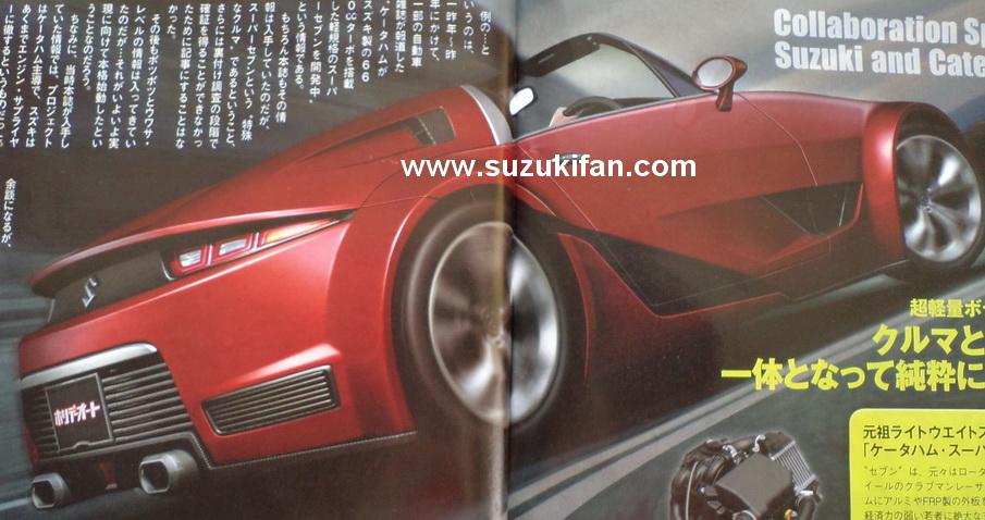 Suzuki Cappuccino rear rendering