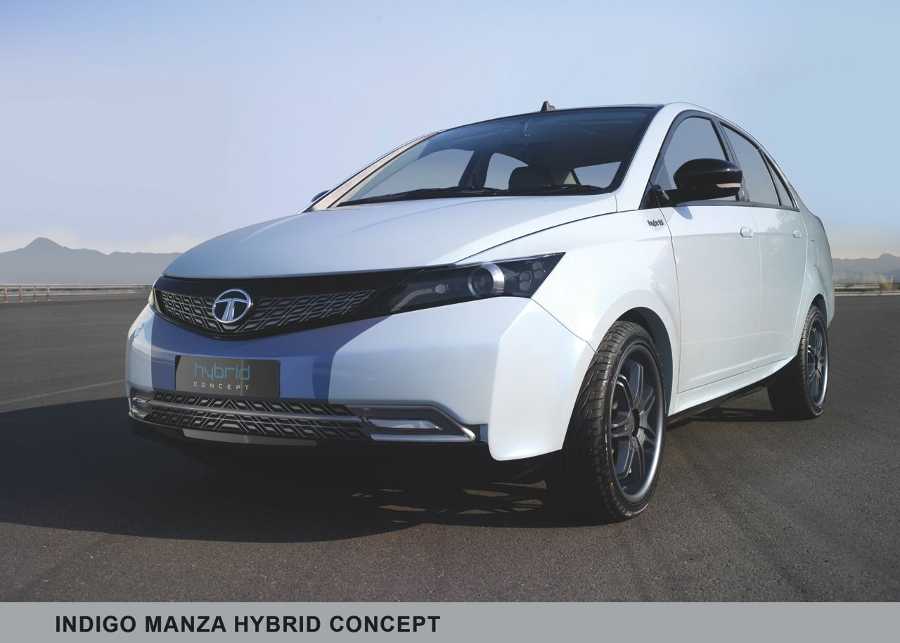 2014 Tata Vista facelift with Manza Hybrid inspired grille