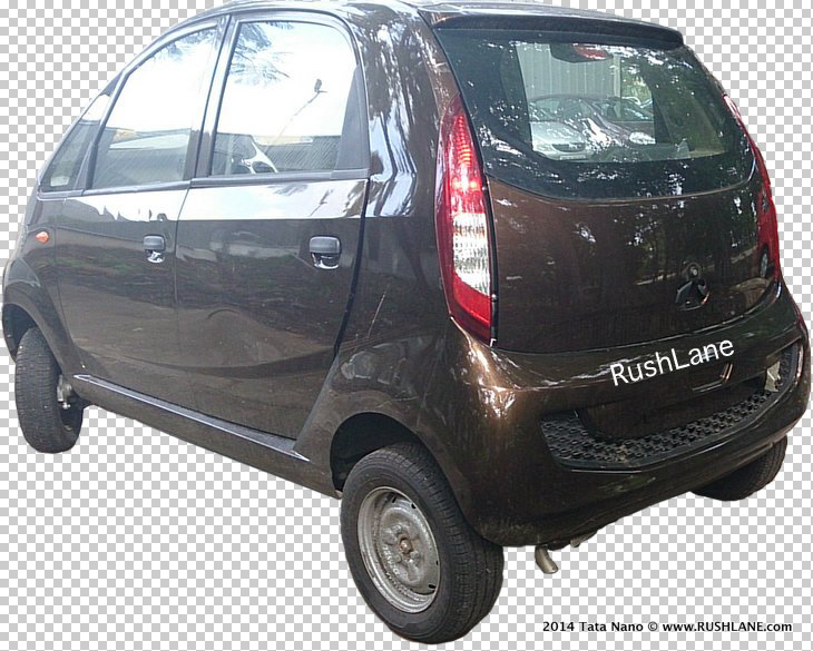 Tata Nano diesel spied - rear three quarter
