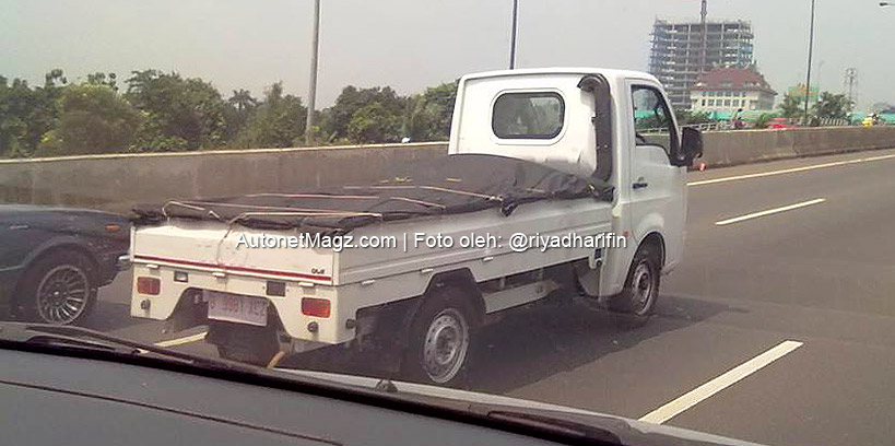 Tata Super Ace spied in Indonesia