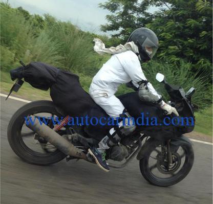 new Hero sportsbike spied