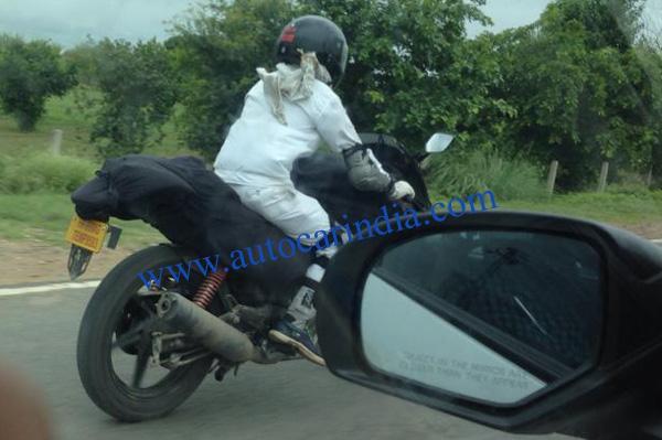 new Hero sportsbike spotted