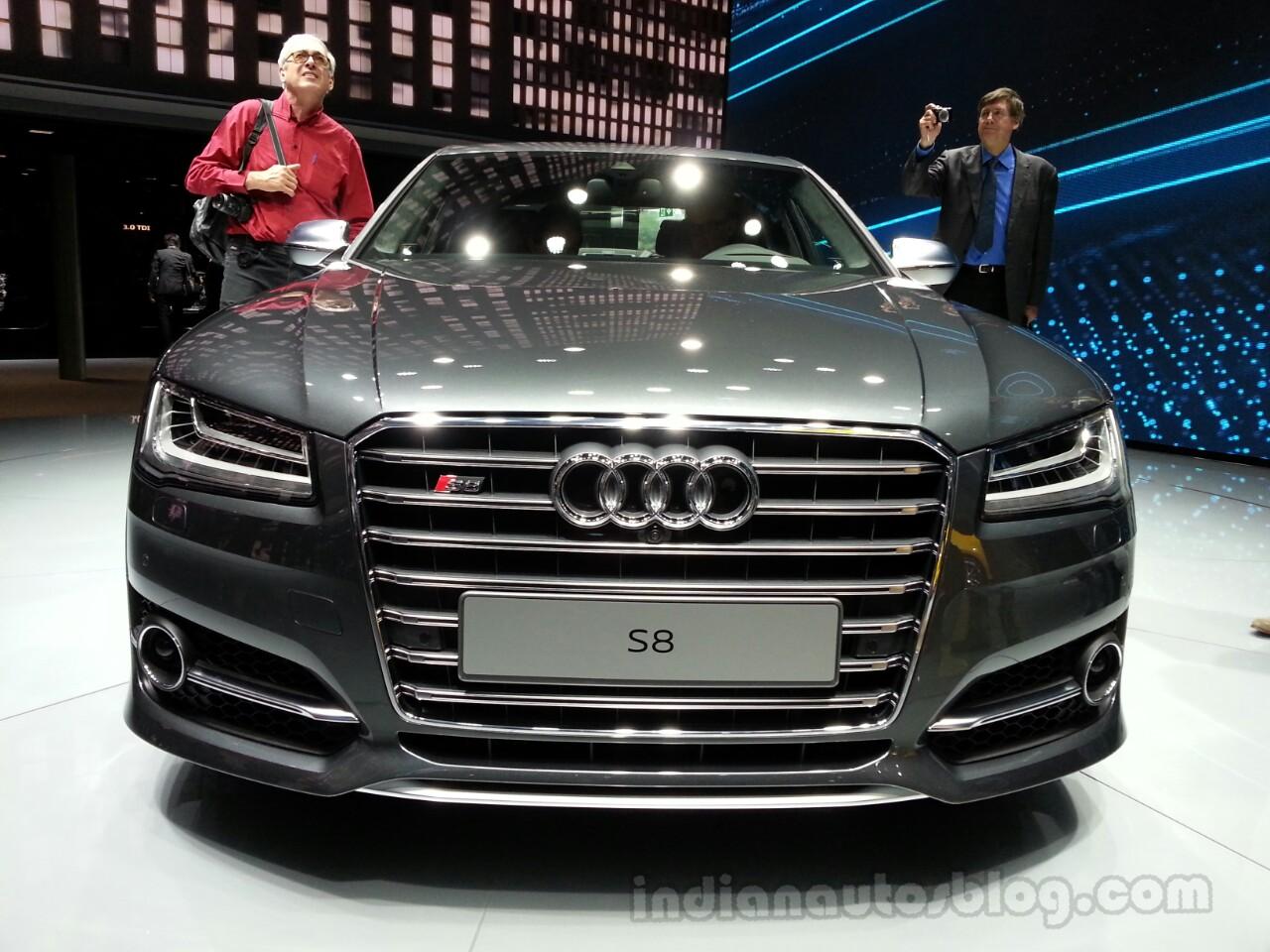 2014 Audi S8 Front