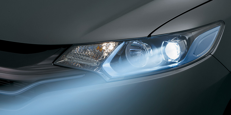 2014 Honda Jazz LED headlights