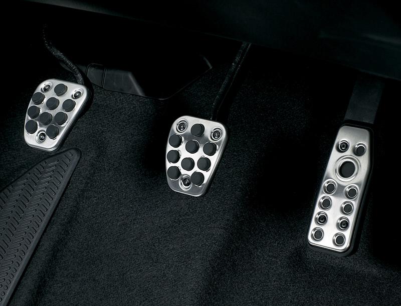 2014 Honda Jazz pedals