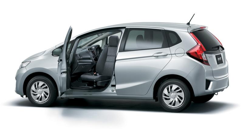 2014 Honda Jazz rotating front seat