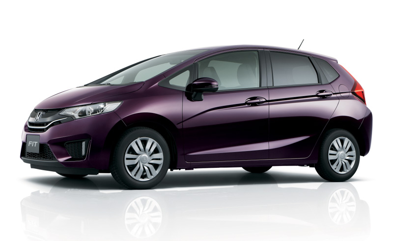2014 Honda Jazz side profile