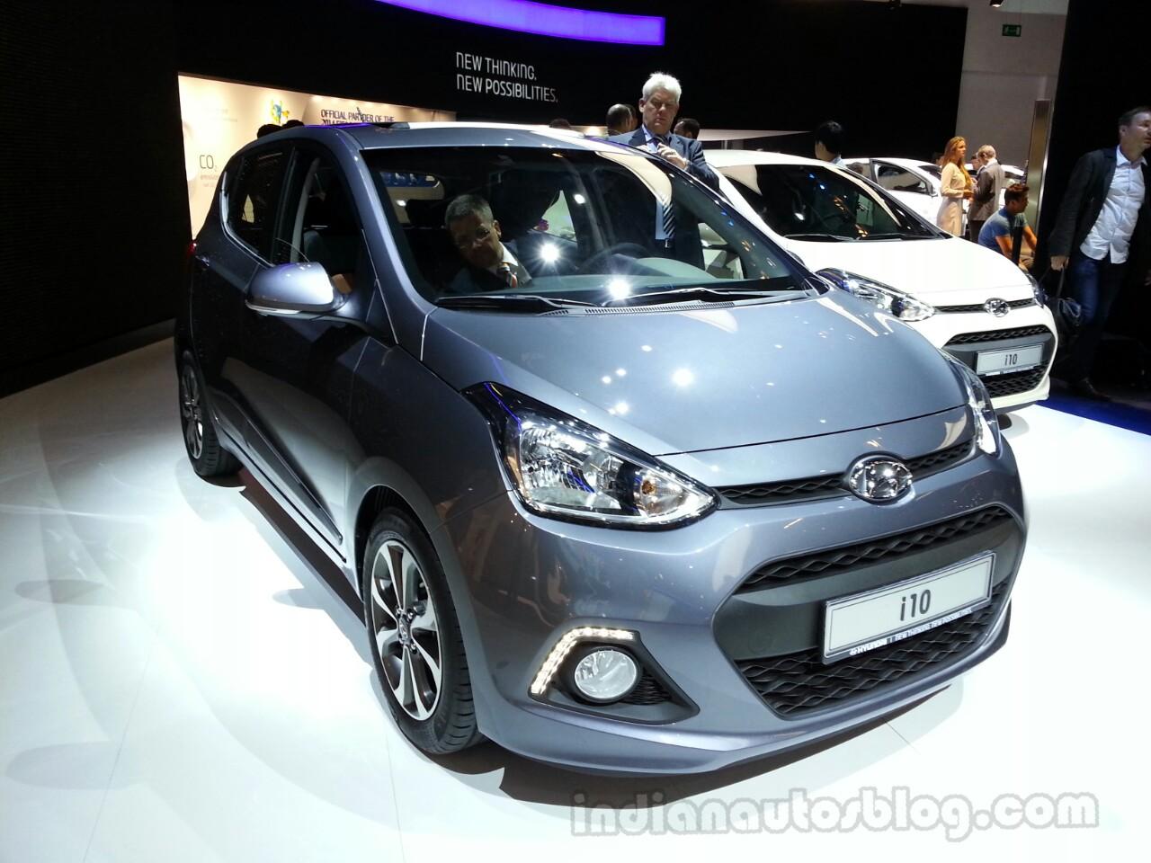 2014 Hyundai i10 Front Left
