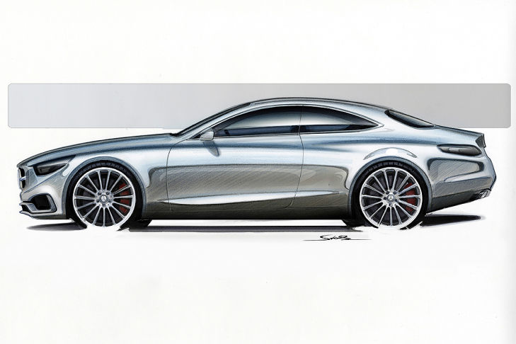 2014 Mercedes Benz S Class coupe side