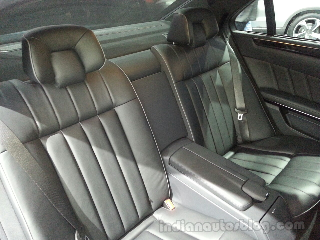 2014 Mercedes E Class Long wheelbase rear seats