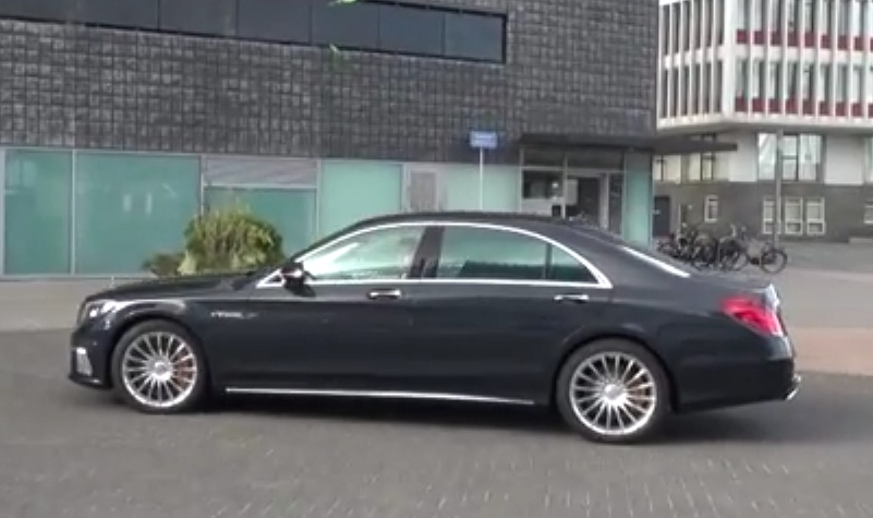 2014 Mercedes S 65 AMG spied uncamouflaged