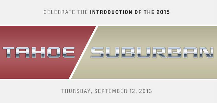 2015 Chevrolet Tahoe & 2015 Chevrolet Suburban
