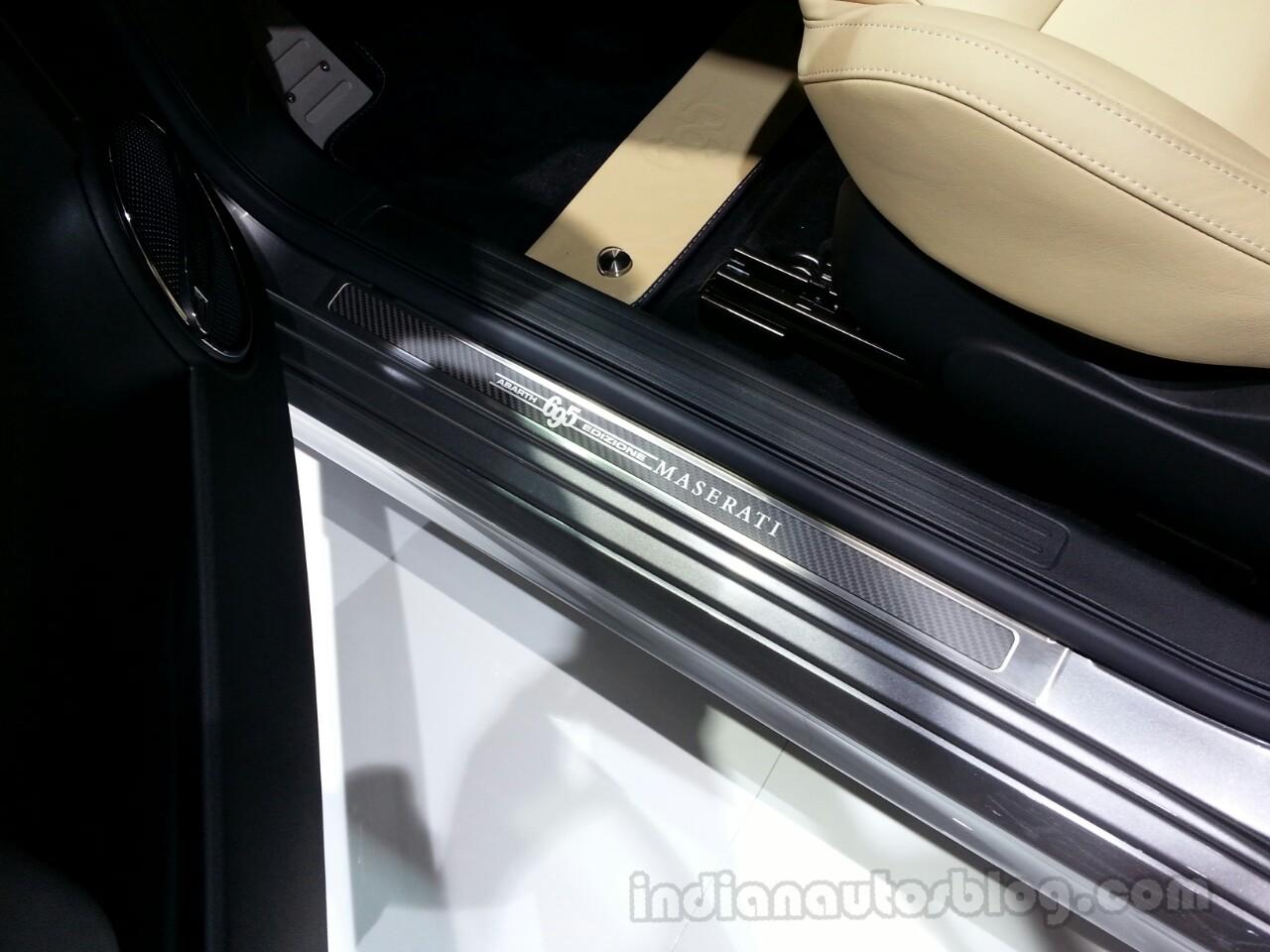 Abarth 695 Edizione Maserati door sill