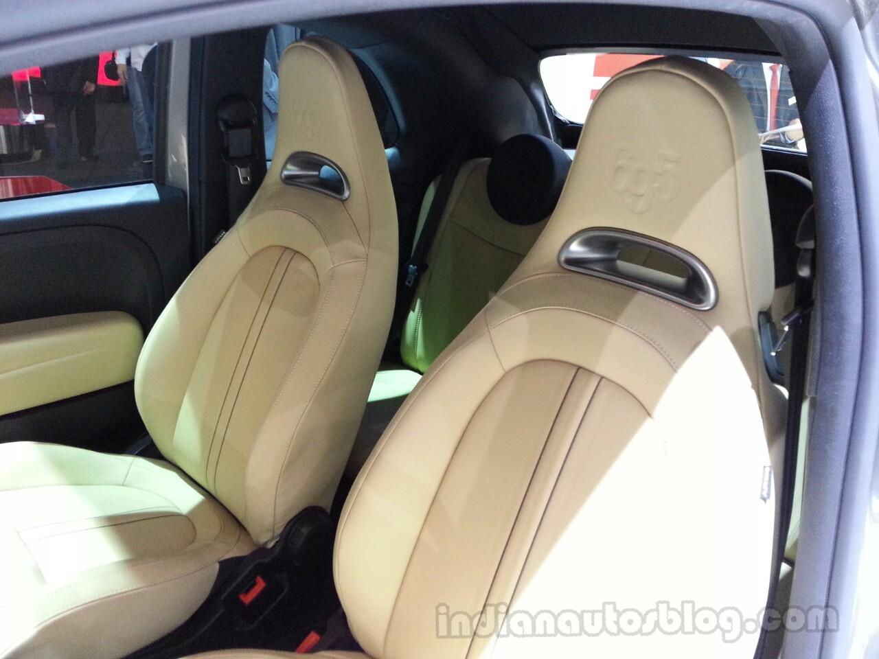 Abarth 695 Edizione Maserati seats