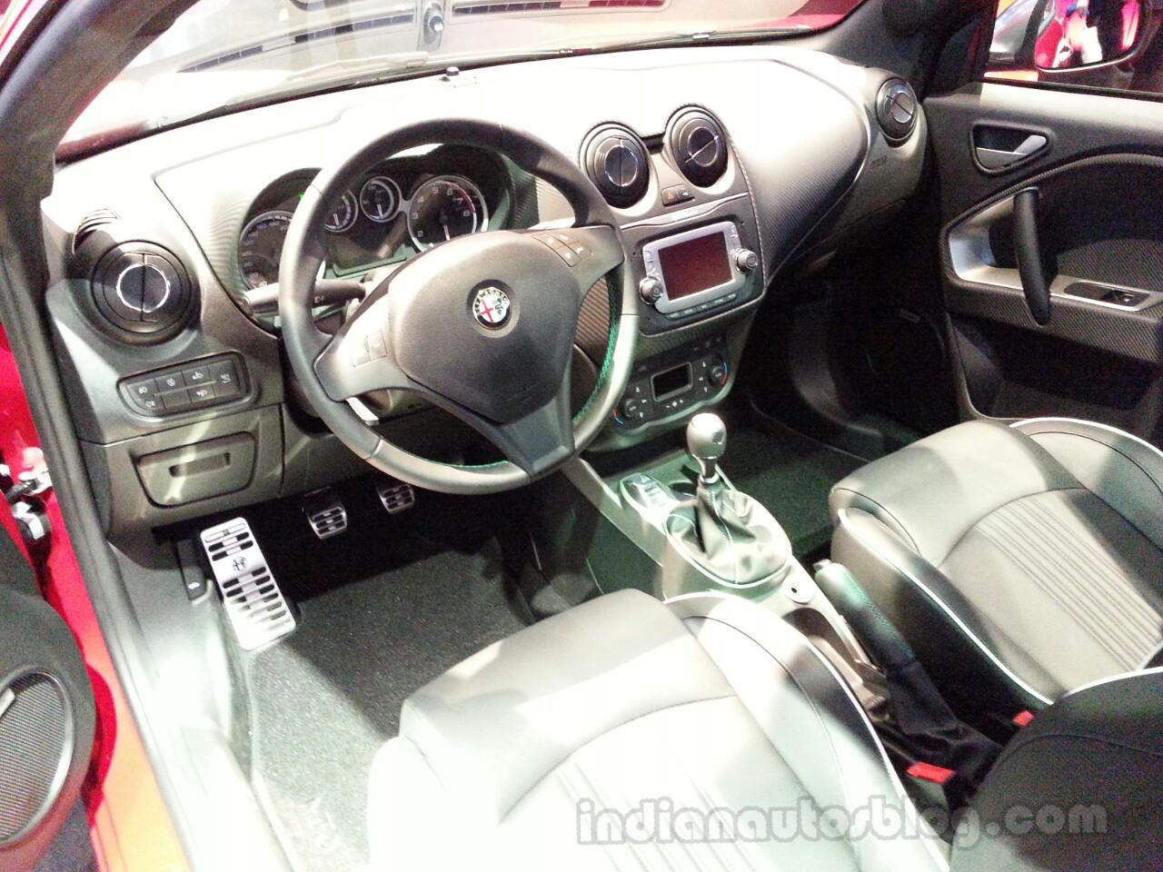 Alfa Romeo MiTo interior