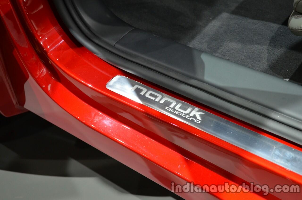 Audi Nanuk concept door sill