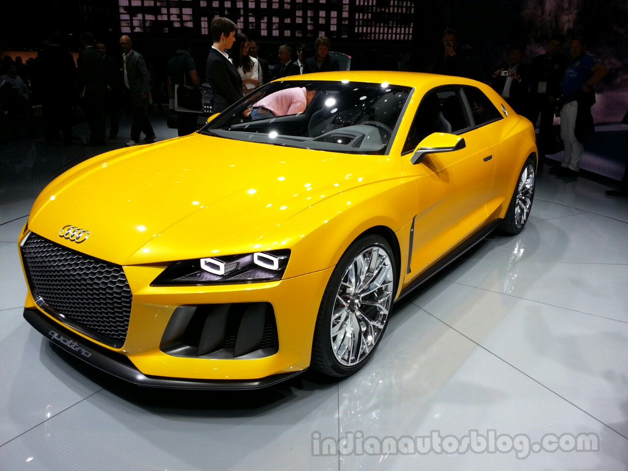 Audi Sport Quattro Concept Front Right