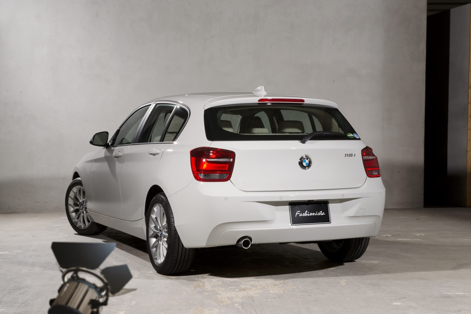 BMW 116i Fashionista - rear