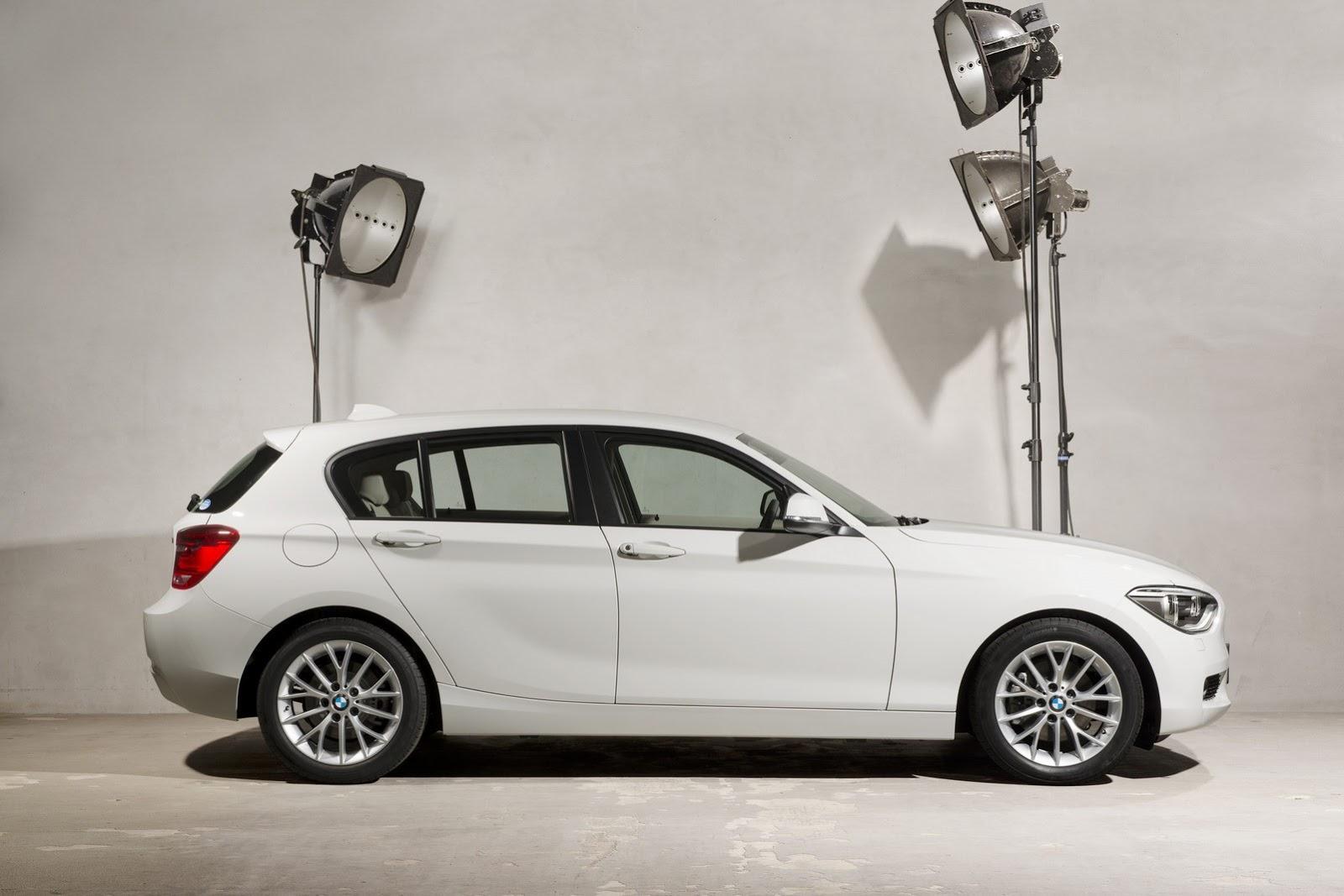 BMW 116i Fashionista - side