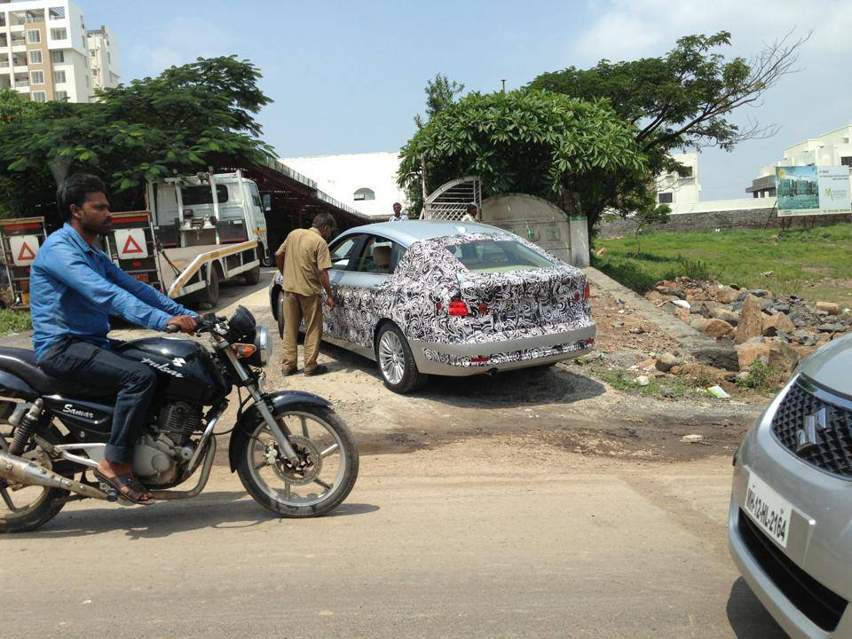 BMW 3 Series GT spotted testing in India