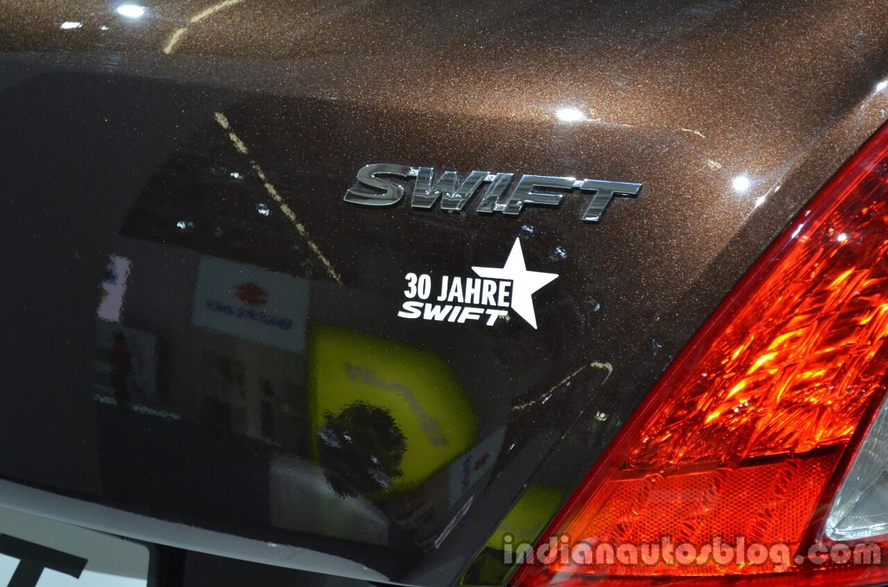 Badge of the Suzuki Swift 30 Jahre Edition