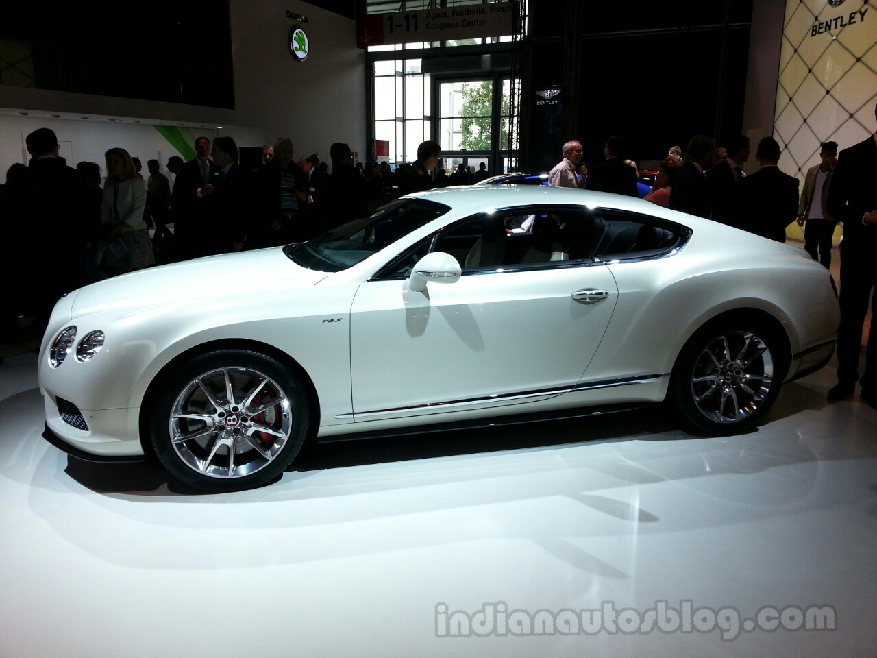 Bentley Continental Coupe Side