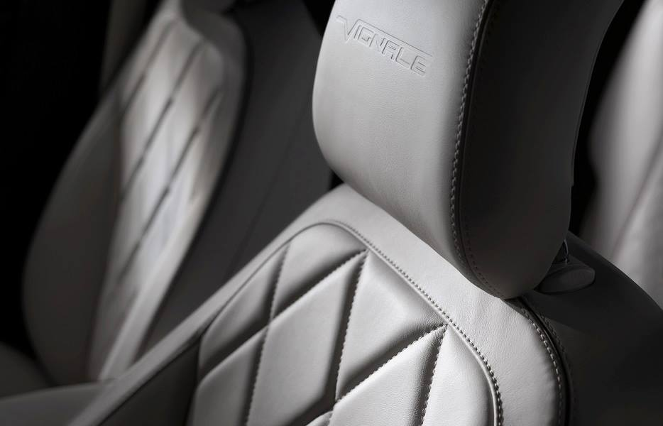 Branded seating of the Ford Mondeo Vignale concept
