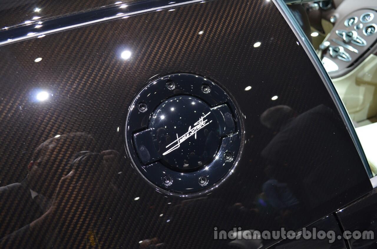 """Bugatti Veyron Grand Sport Vitesse """"Jean Bugatti"""" edition fuel cap"""