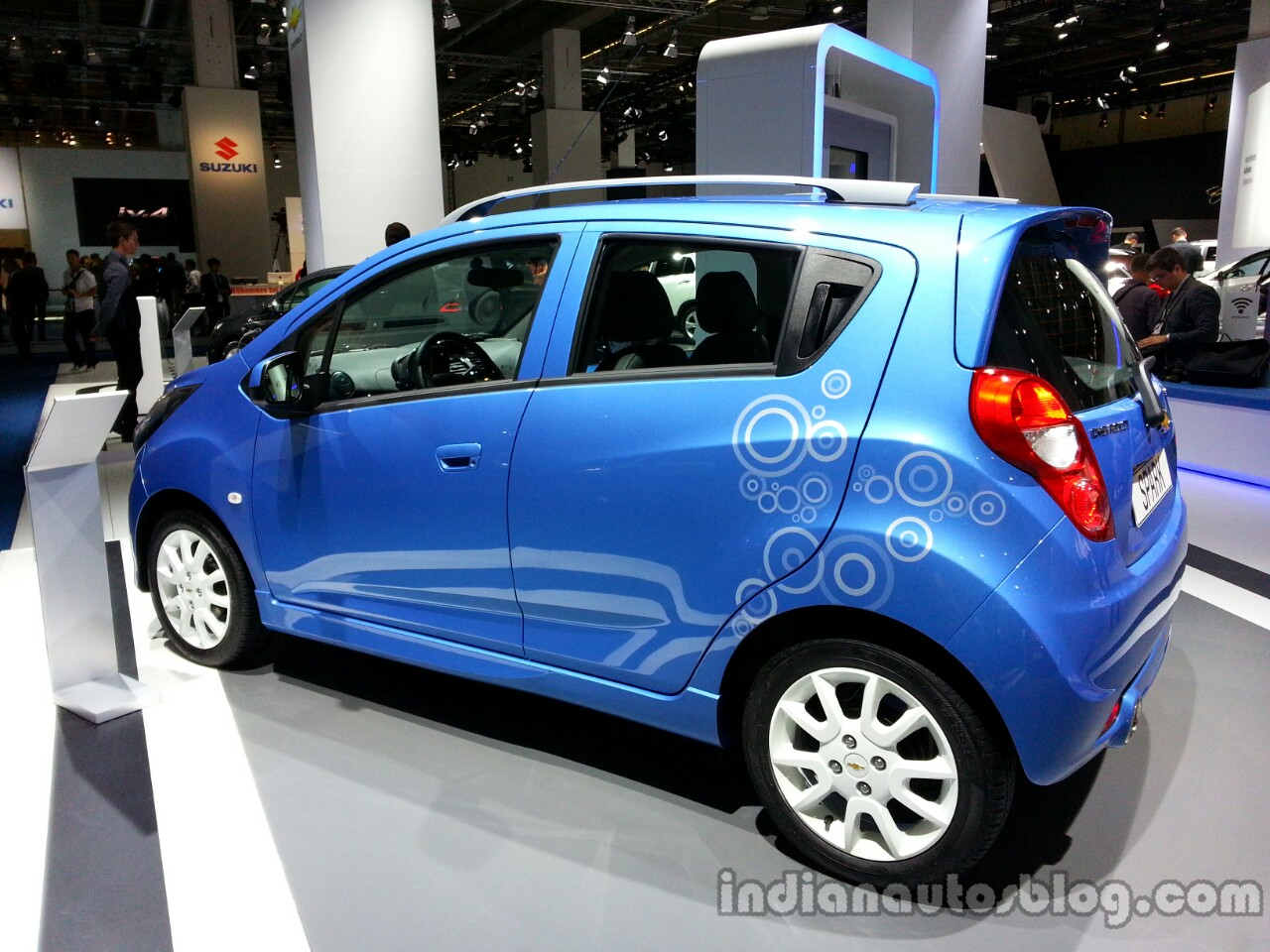 Chevrolet Spark Bubble Rear Left