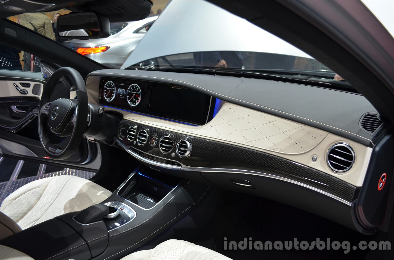Dashboard of the 2014 Mercedes S 63 AMG
