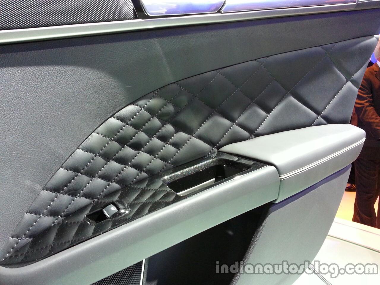 Door pad of the Ford Mondeo Vignale Concept sedan