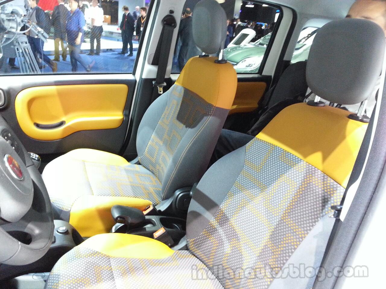 Fiat Panda Antartica seats