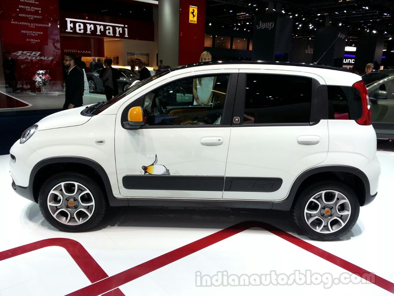 Fiat Panda Antartica side