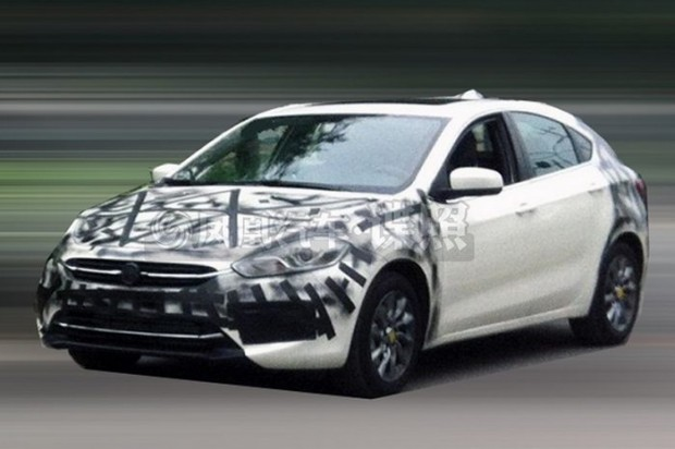 Fiat Viaggio hatch spotted testing in China