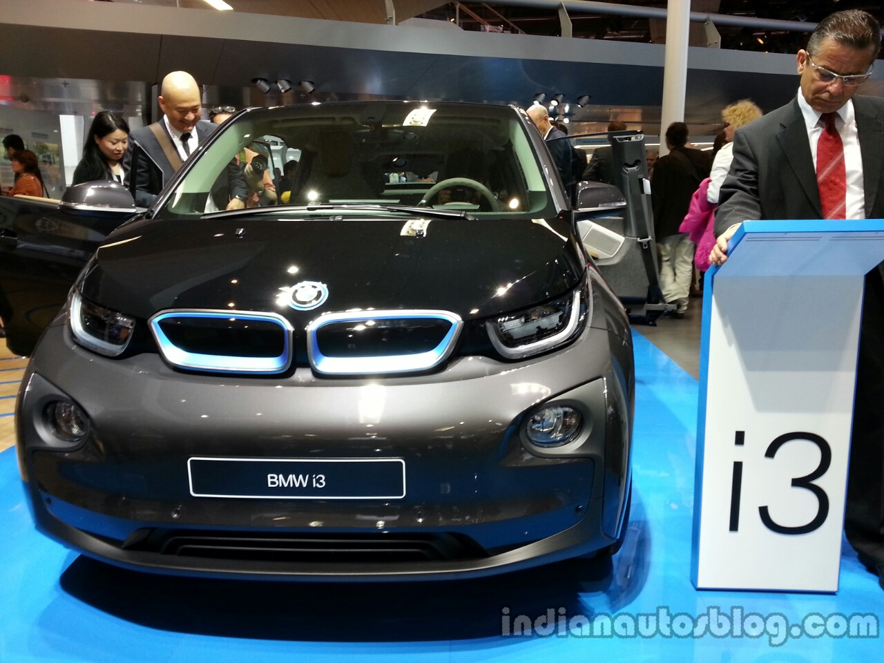 Front fascia of the BMW i3
