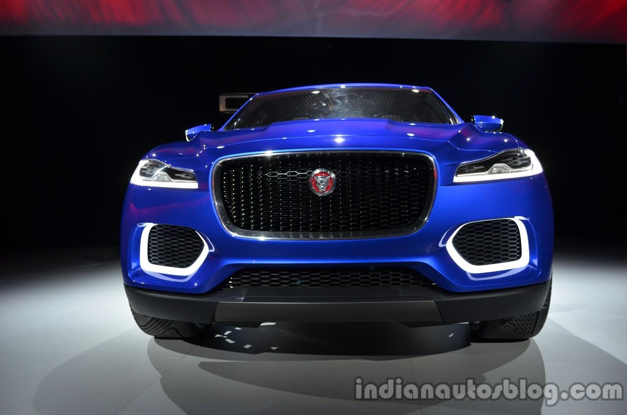 Front fascia of the Jaguar CX-17 Concept