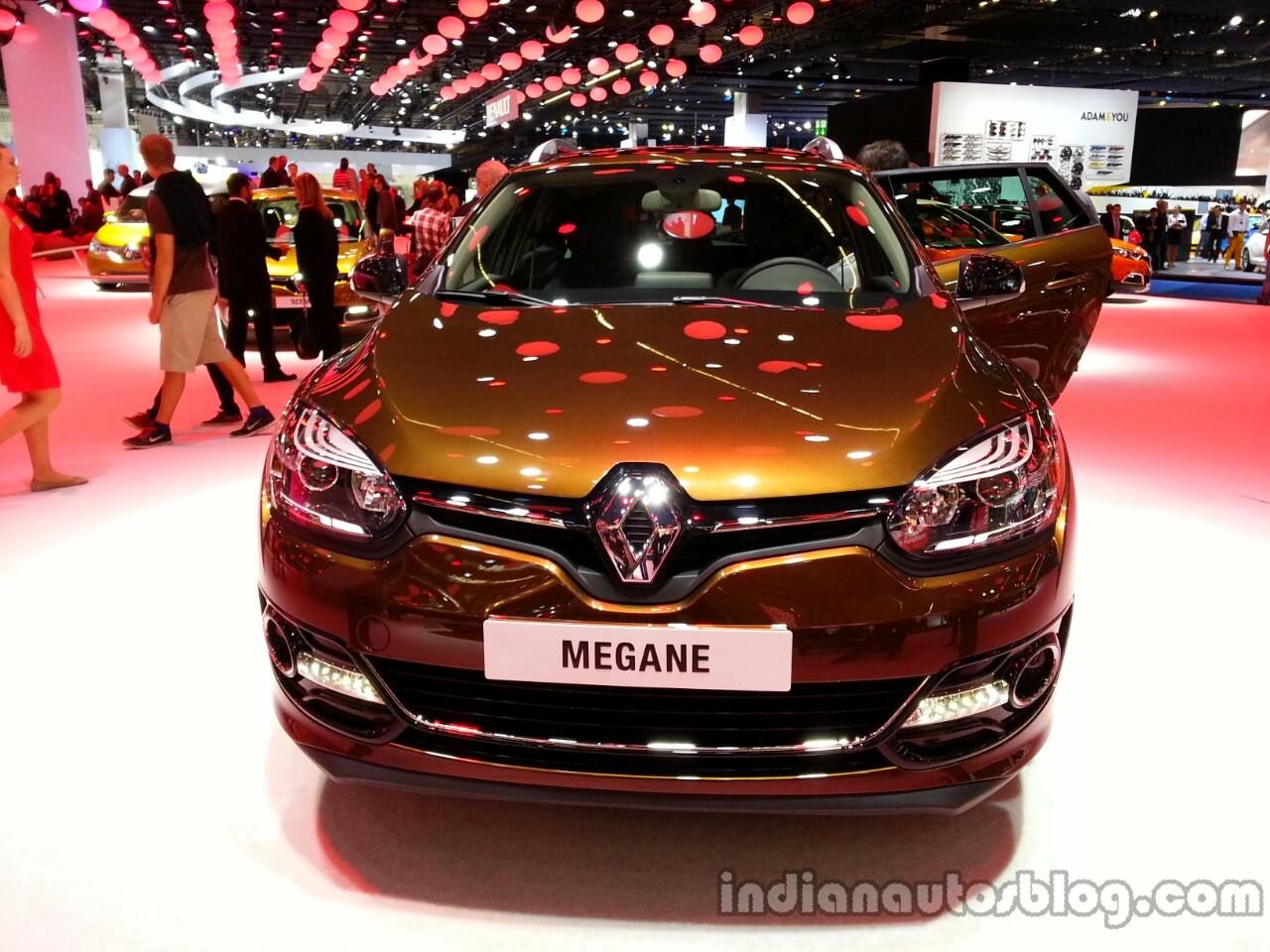 Front of the 2014 Renault Megane estate