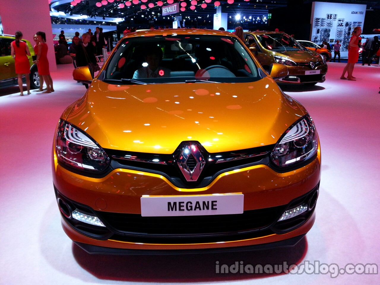 Front of the 2014 Renault Megane