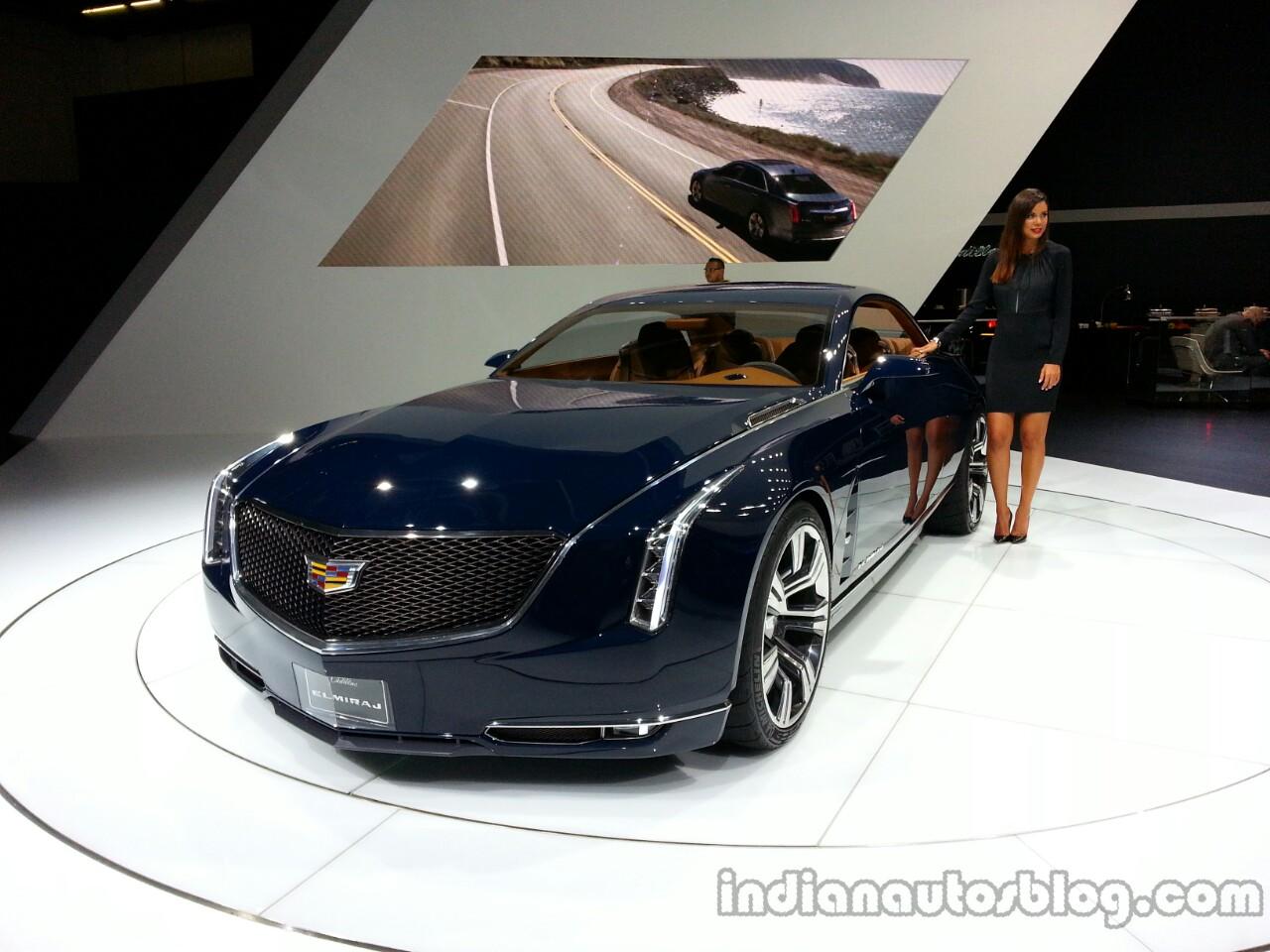 Front three quarter of the Cadillac Elmiraj Concept