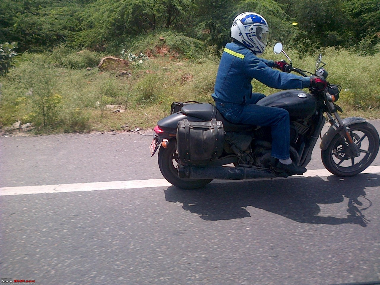 Harley Davidson 500cc cruiser spotted India