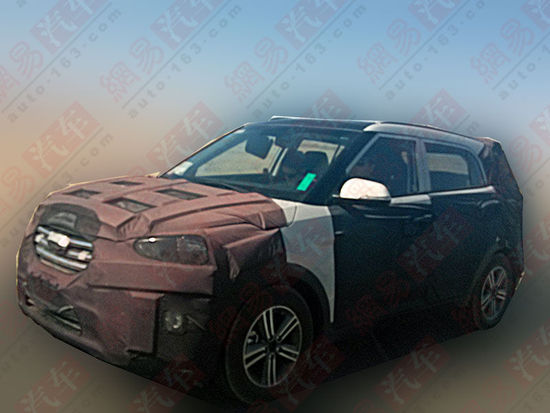 Hyundai Mini SUV spied