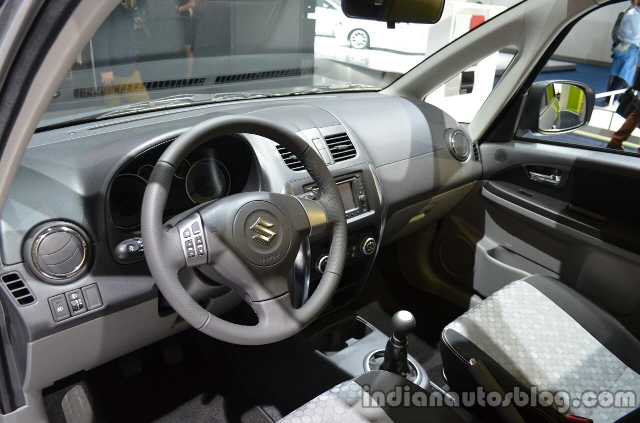 Interior of the Suzuki SX4 Classic