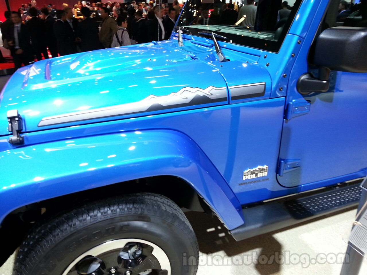 Jeep Wrangler Polar special edition graphics