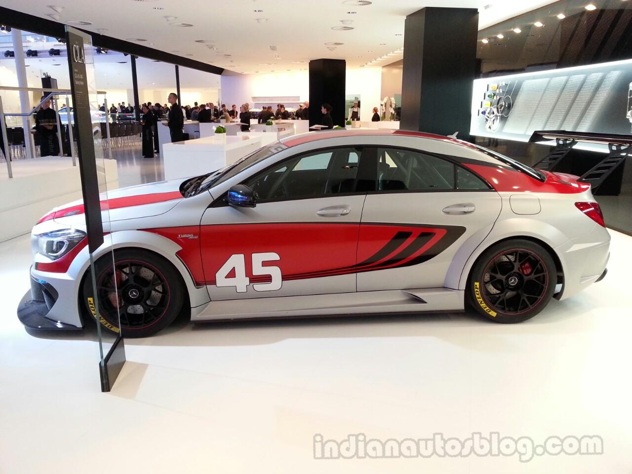 CLA 45 AMG Racing Series side