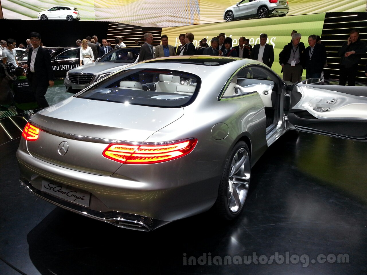 Mercedes Concept S-Class Coupe Concept Rear Right